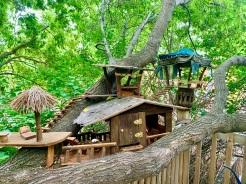 Tree house fairy retreat